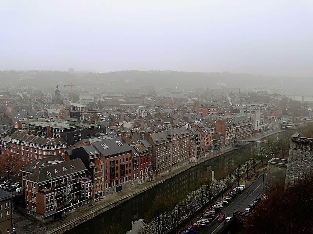 Namur old town