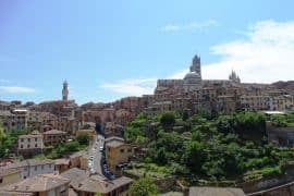 How to get from Florence to Siena by bus and train