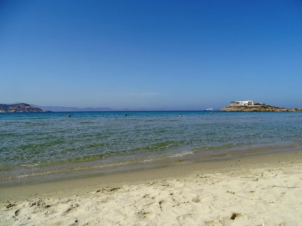 St George beach Naxos - Things to do in Naxos