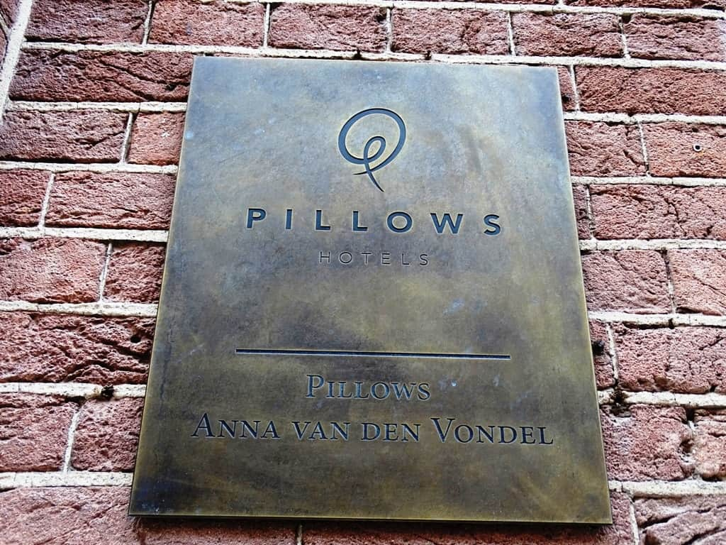 review of pillows anna van den vondel boutique hotel in amsterdam