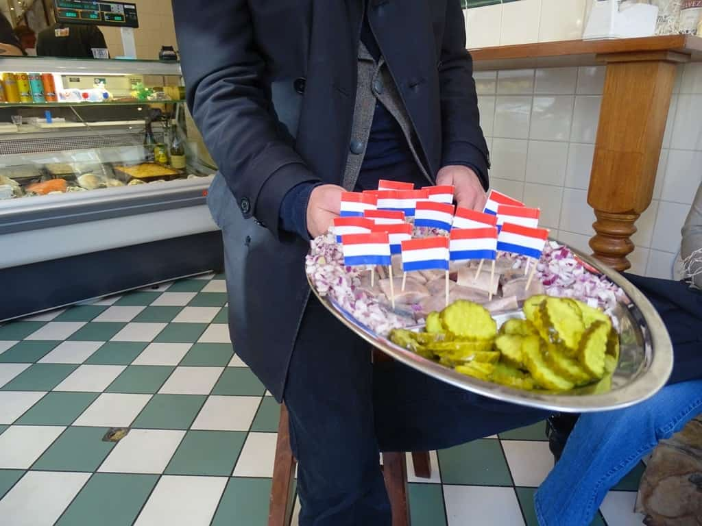 Herring - Eating Amsterdam Food Tour