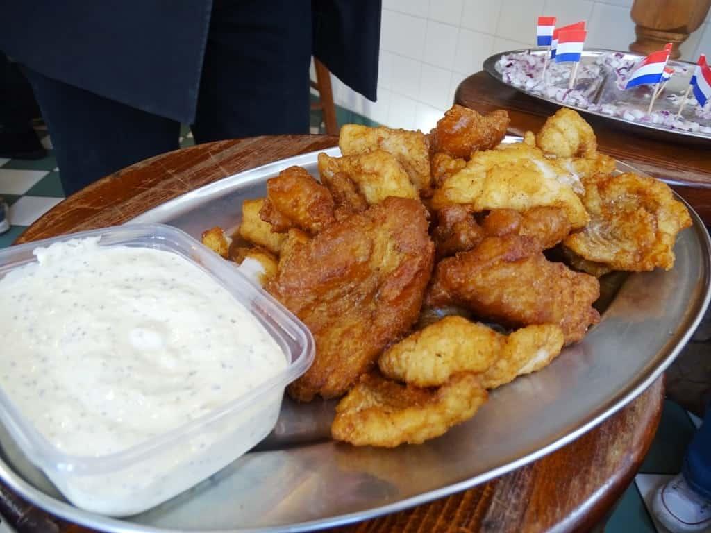 Kibbeling - Eating Amsterdam Food Tour