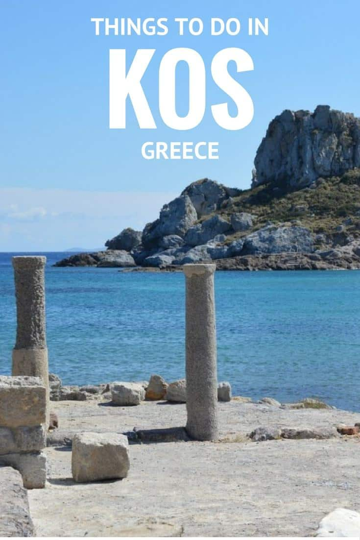 things to do in Kos, where to stay and how to get in to the island