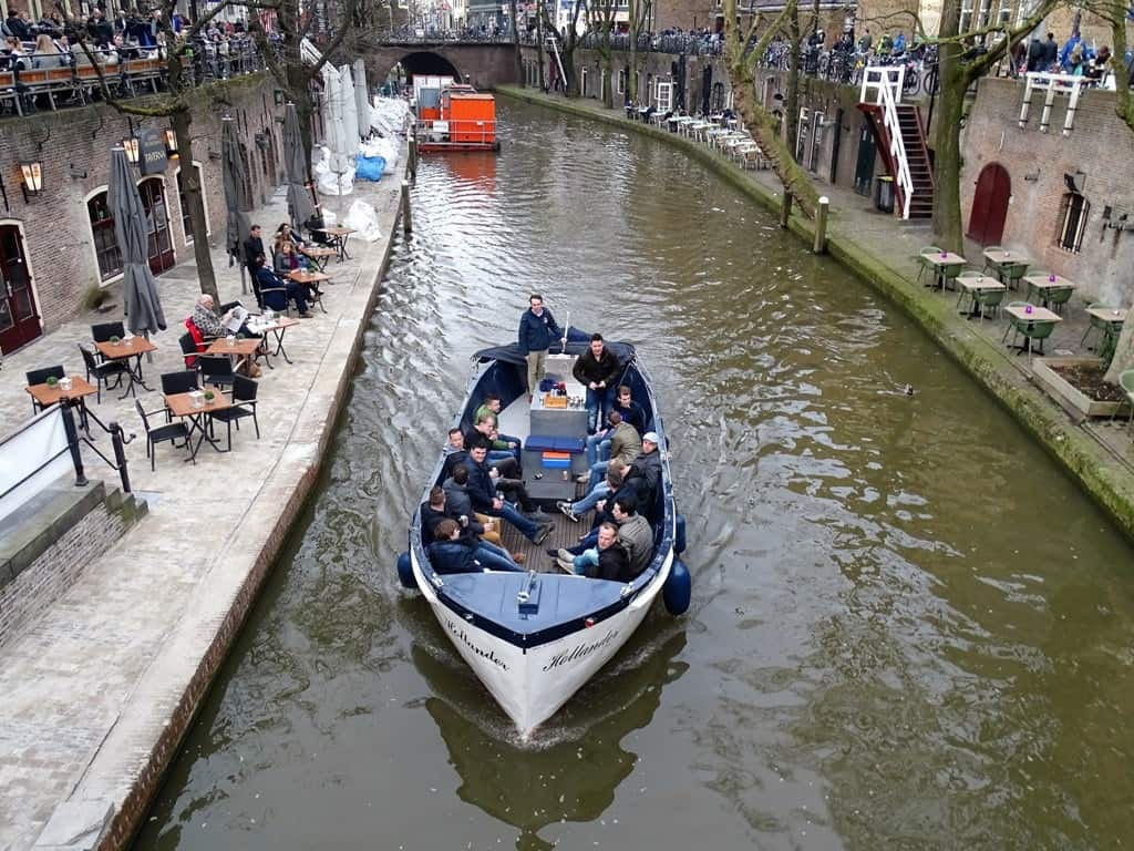 a canal boat tour is among the top things to do in Utrecht