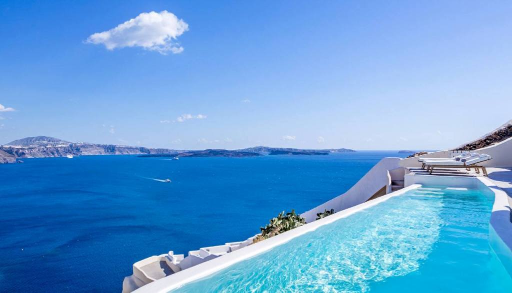 Santorini hotels with private pool - Canaves Oia Santorini