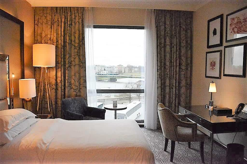 Sheraton Grand Krakow Is A 5 Star Modern Hotel Located On The Bank Of Wisla River And Opposite S Stunning Wawel Castle
