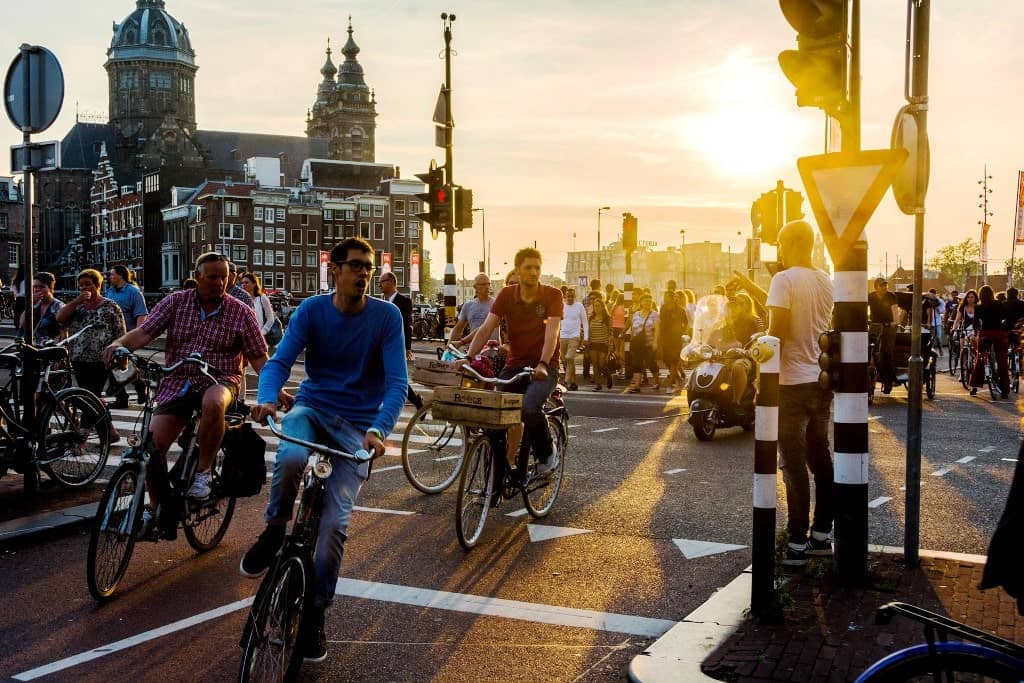 Don't rent a bicycle- Things NOT to do in Amsterdam