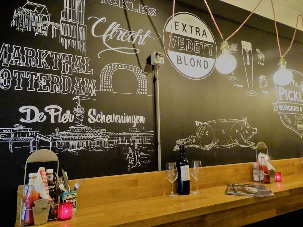 Firma Pickles Burgers & Wines Utrecht