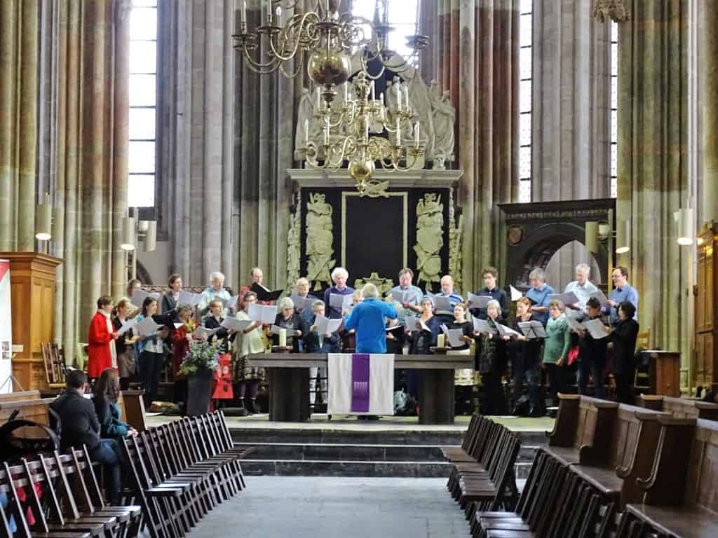 Inside Dom Church - St Martin's - things to do in Utrecht