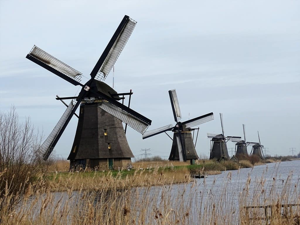 Kinderdijk wind mills, Netherlands
