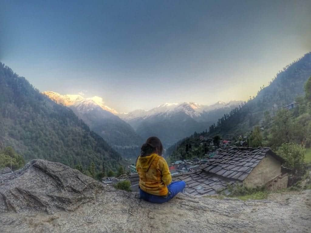 Sonal in Tosh, the Himalayas, India