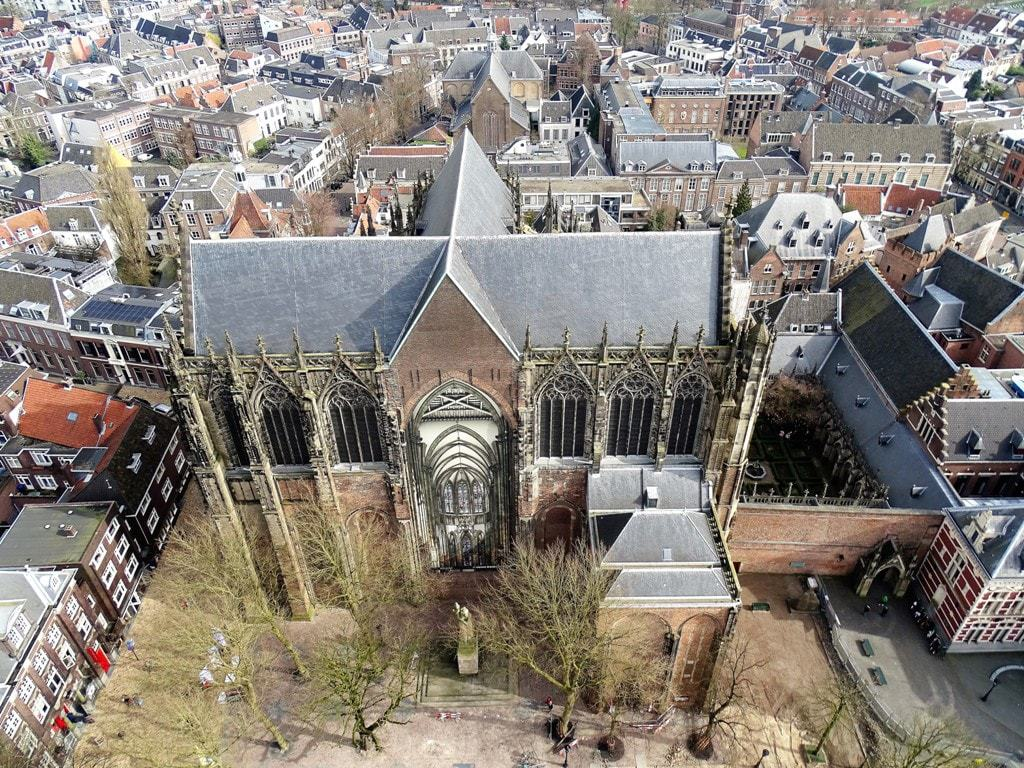 The view from Dom Tower - things to do in Utrecht