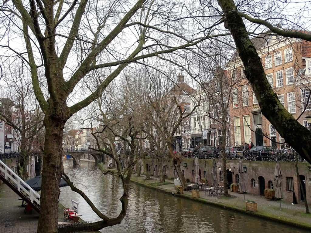 beautiful canals in Utrecht
