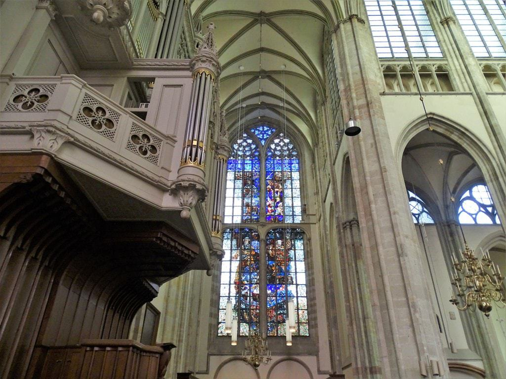 inside Dom Church, Utrecht