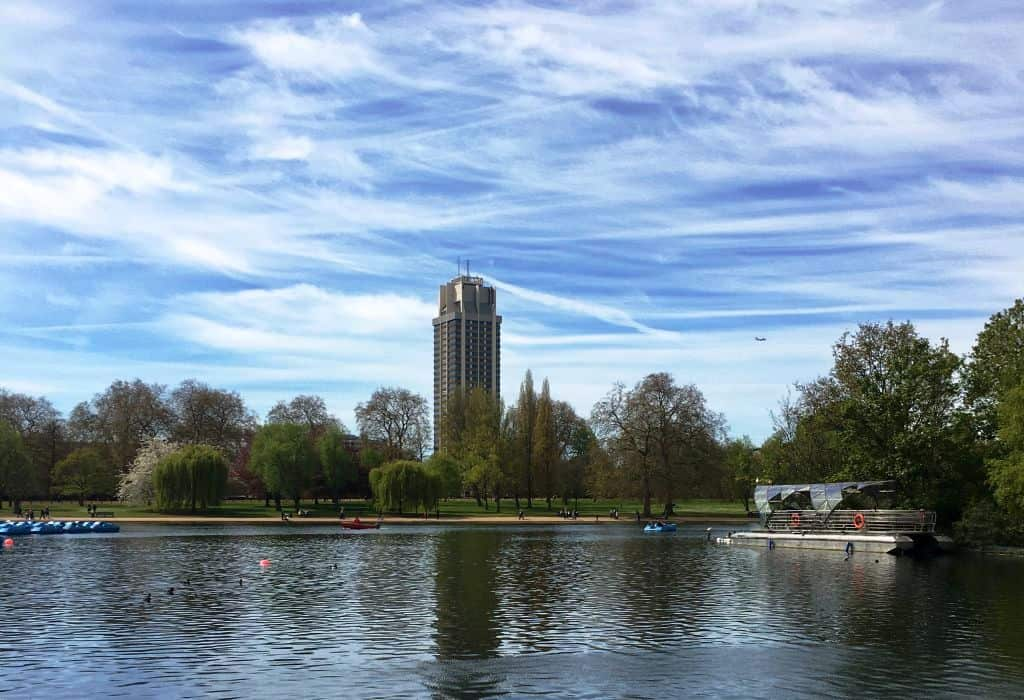 london-hyde-park-spring - best places to visit in May 2017