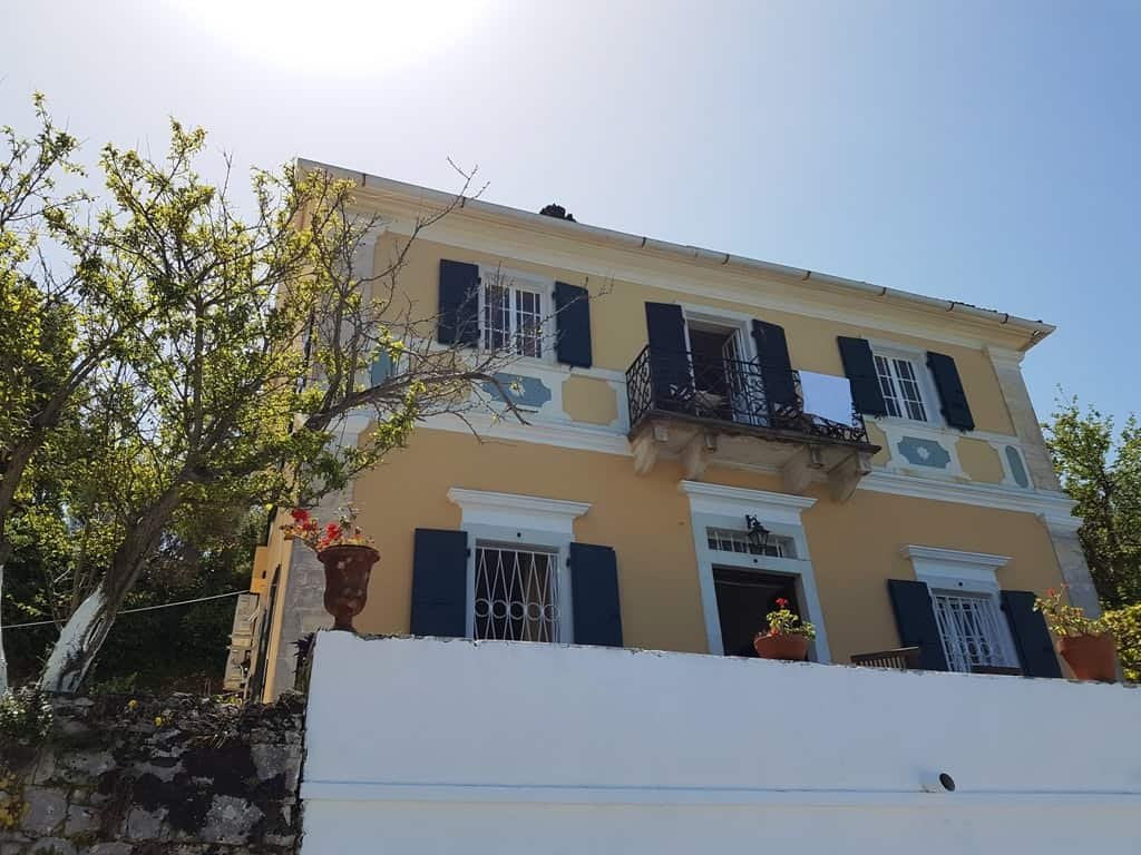 The Manor house - Paxos