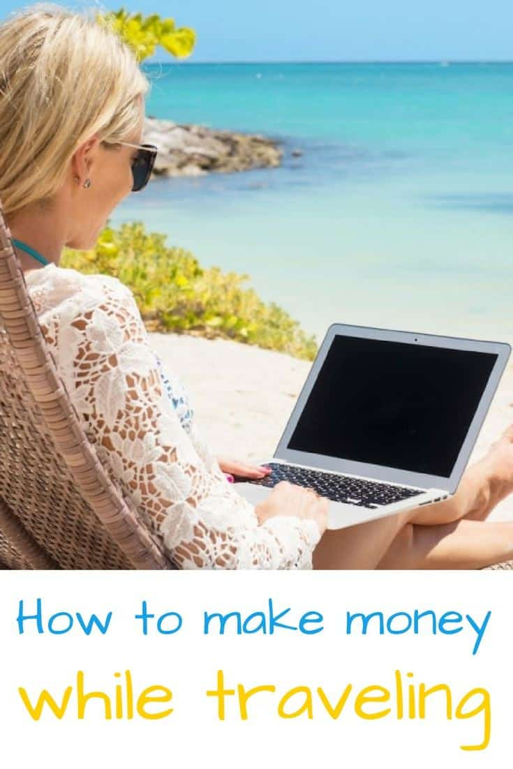 5 ways to make my money - ways to make money online and be location independent - digital nomad