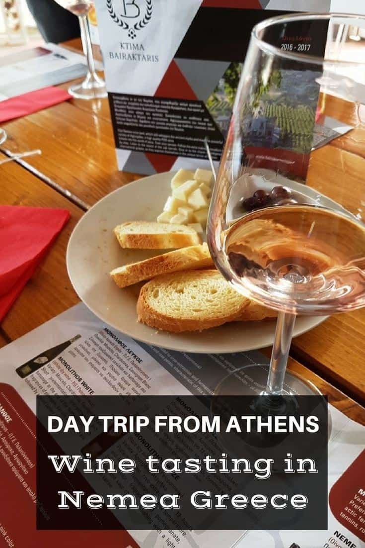 Day trip from Athens Wine tasting in Nemea Greece