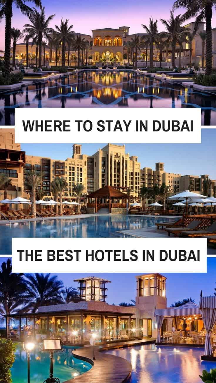 where to stay in dubai the best hotels for every budget