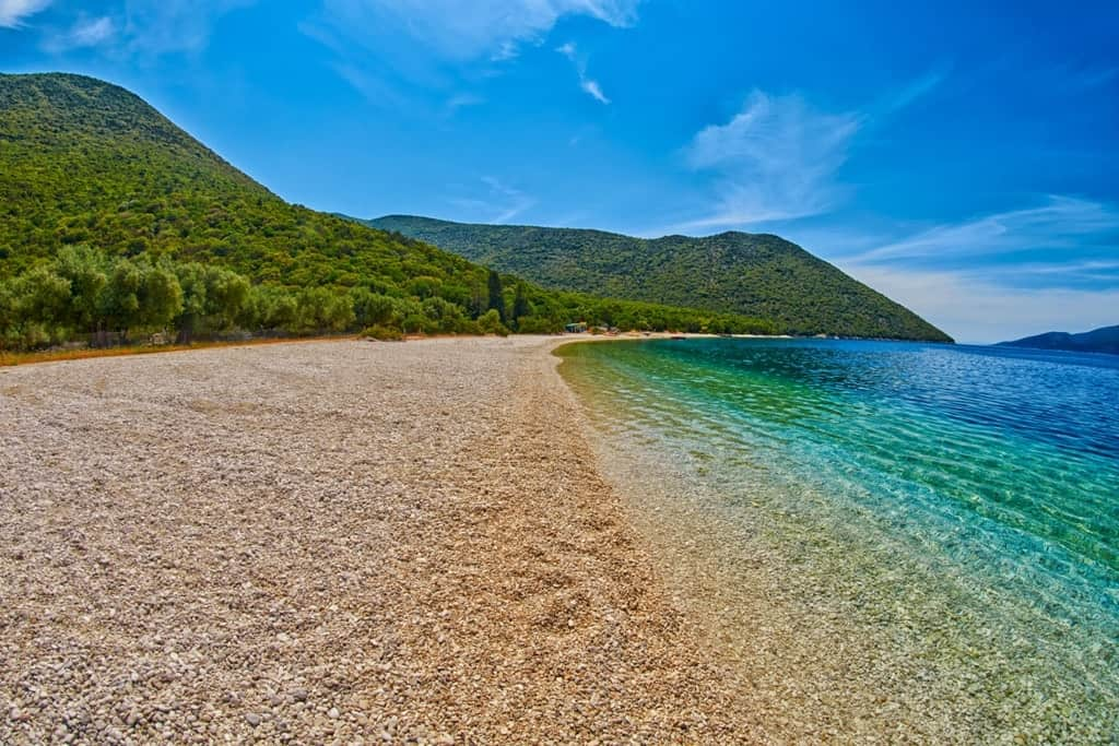 Antisamos Beach -best Kefalonia beaches