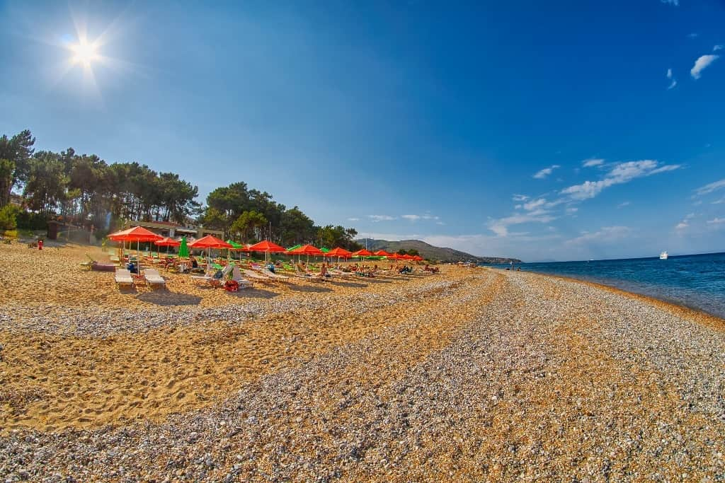 Skala Beach - best Kefalonia beaches