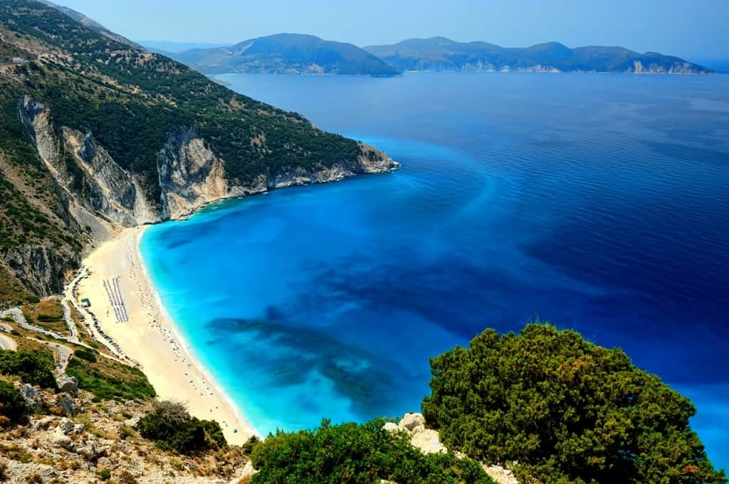 Myrtos Beach -best Kefalonia beaches
