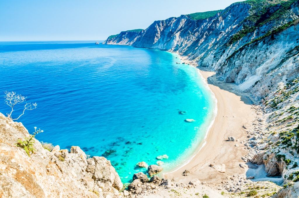 Platia Ammos beach -best Kefalonia beaches