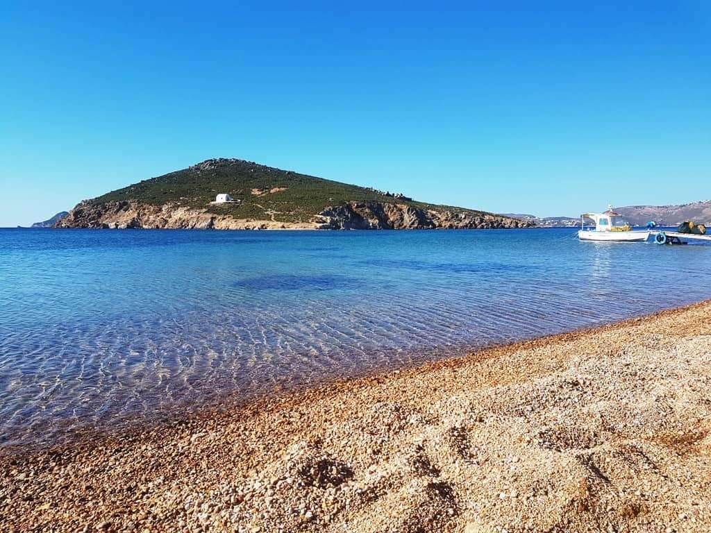 Livadi Geranou beach Patmos