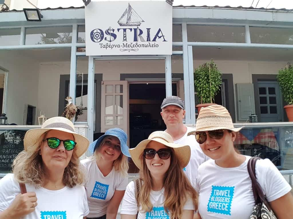 Ostria Restaurant Patmos