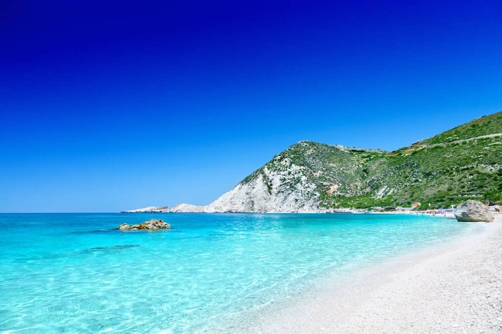 Petani beach - best Kefalonia beaches
