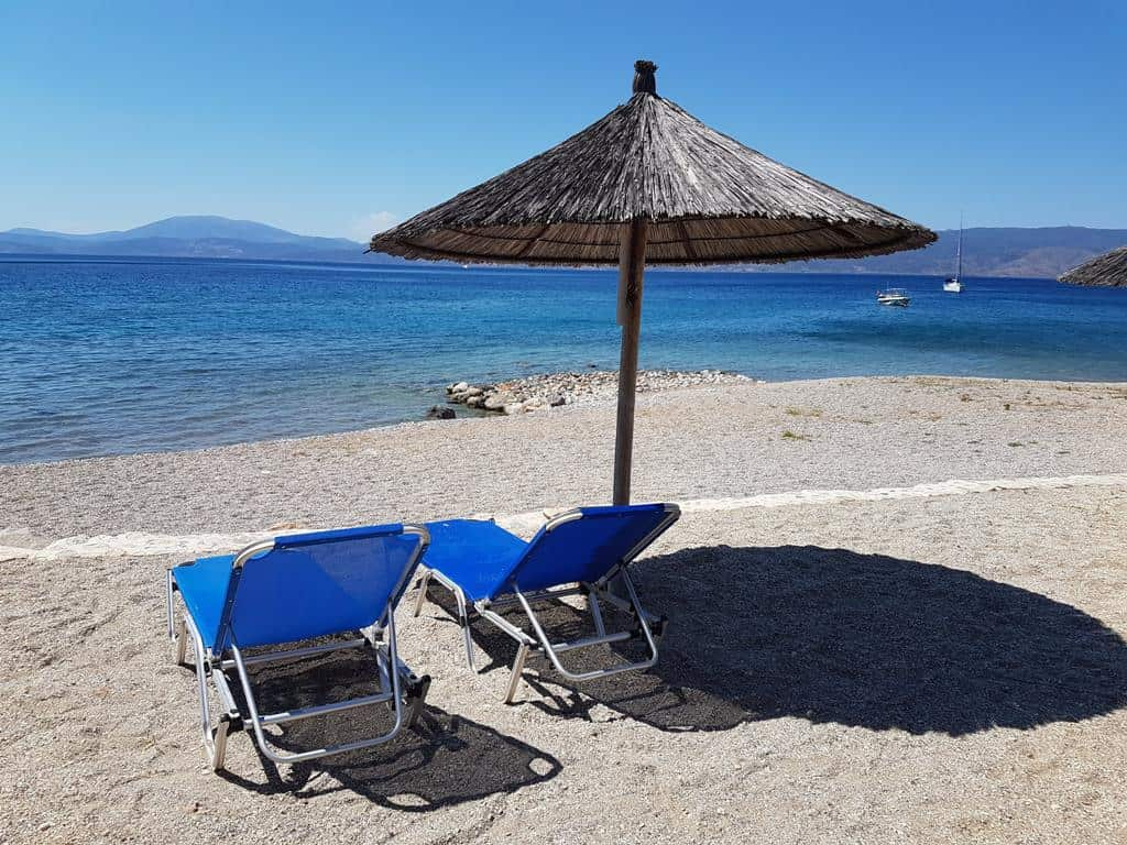 Plakes Vlychos beach - Four Seasons Hydra - things to do in Hydra