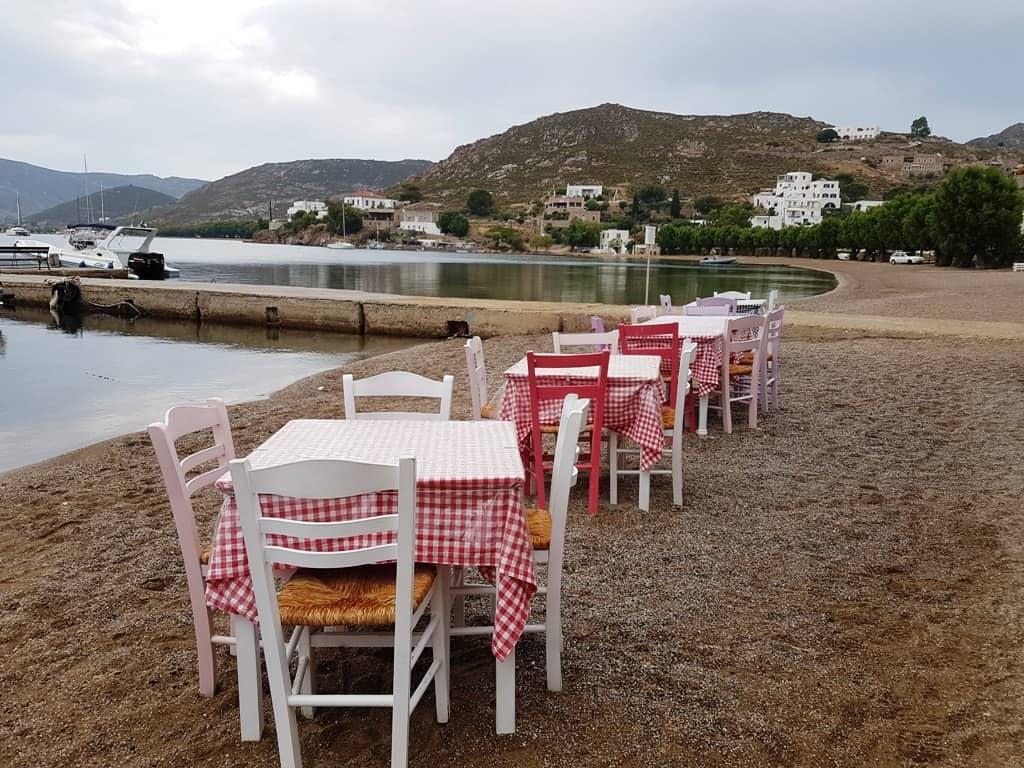 Plefsis restaurant Patmos