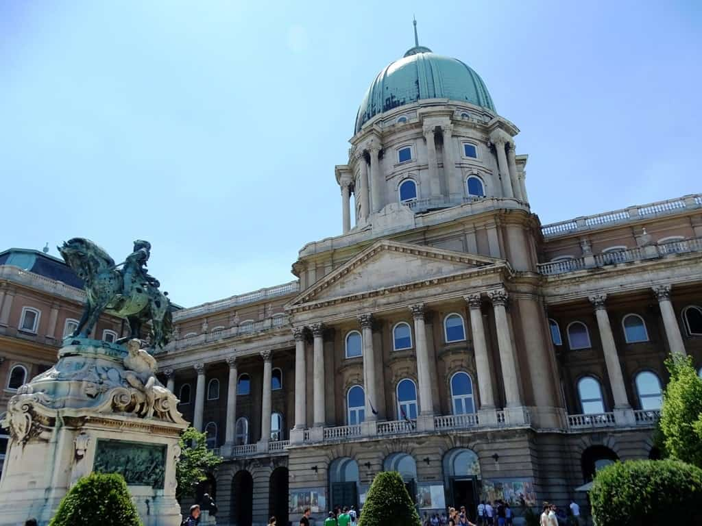 The Royal Palace - Budapest in 3 days