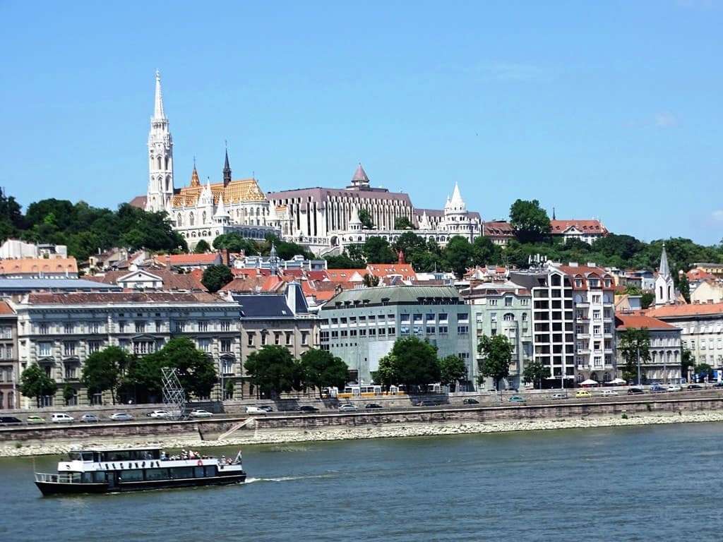View of Buda from the Chain bridge
