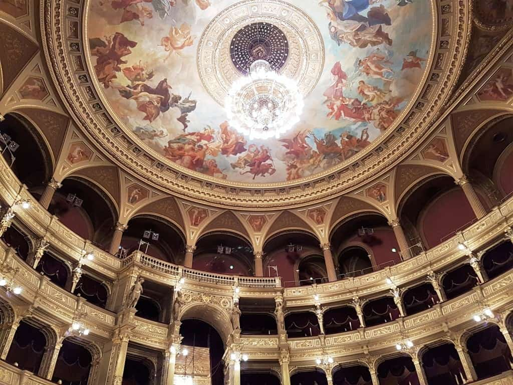the Hungarian State Opera 3 days in Budapest