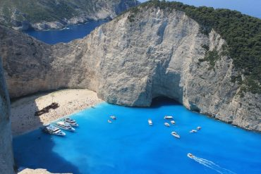 Navagio/ Shipwreck beach -The best Zante beaches