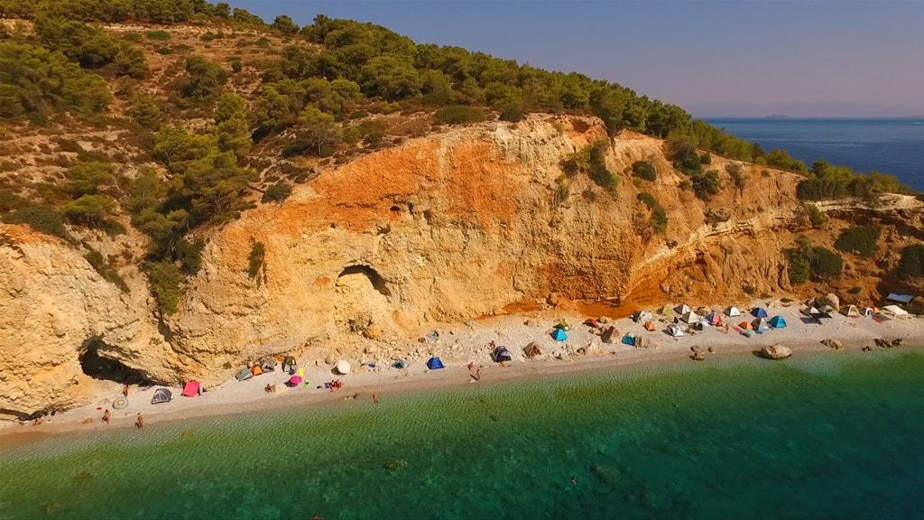 Agistri island -The best islands near Athens
