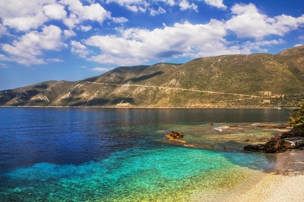 Beach in Vasiliki -The Best Lefkada Beaches