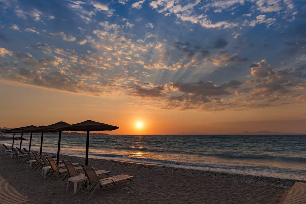Ixia Beach -The Best Rhodes Beaches