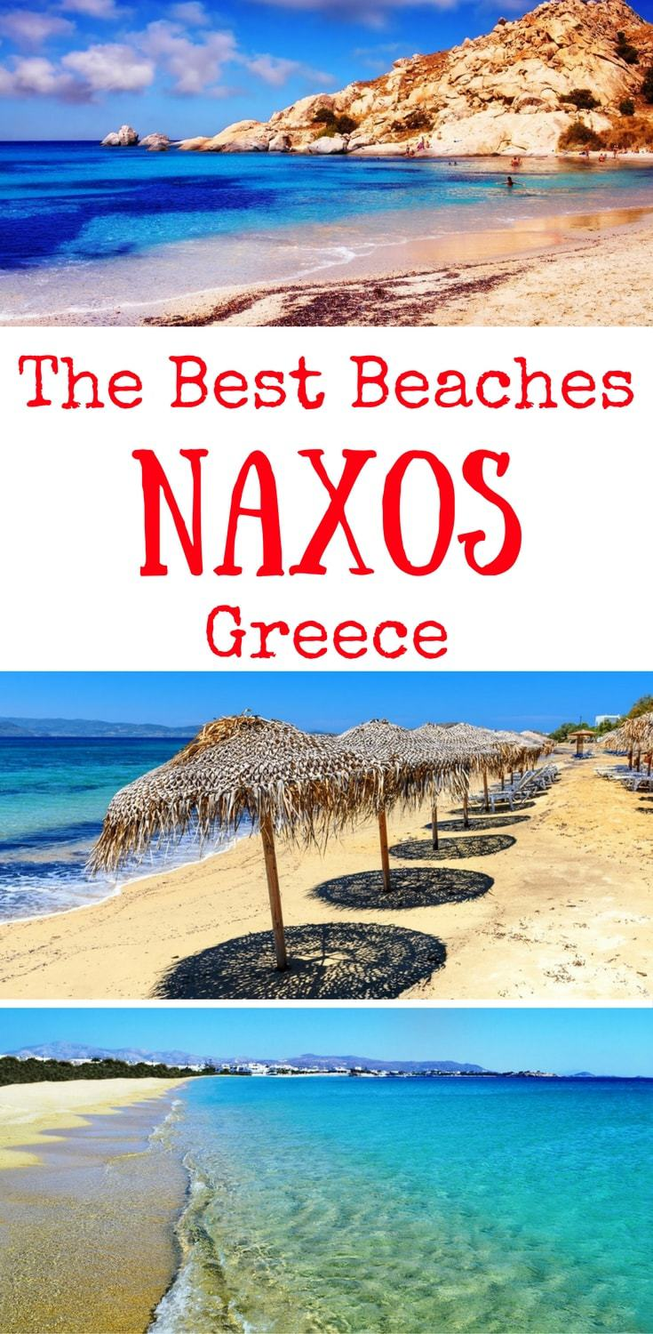The best beachs in Naxos island Greece - Naxos Beach -Naxos Beaches