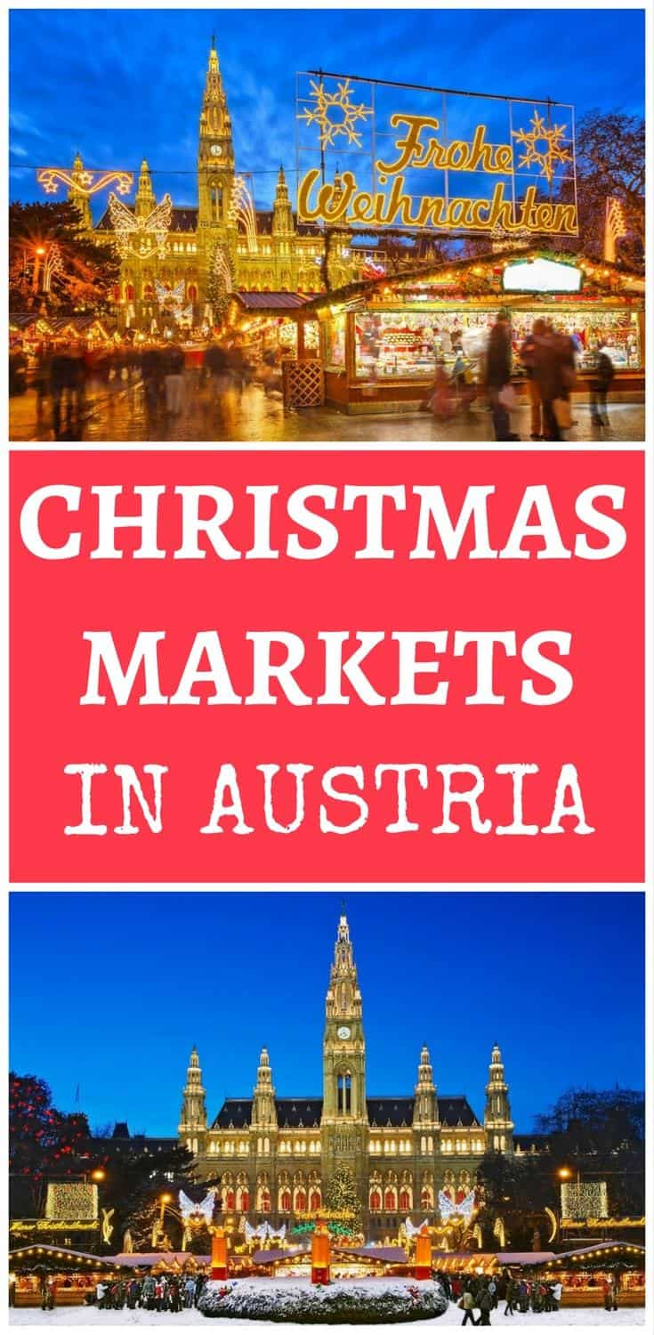 Looking for a great winter destination in Europe? Austria has some amazing Christmas markets. Here are the best Christmas markets in Austria.