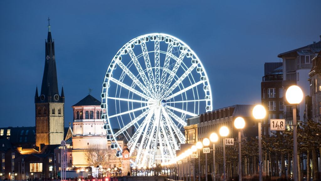 Dusseldorf -The best Christmas Markets in Germany