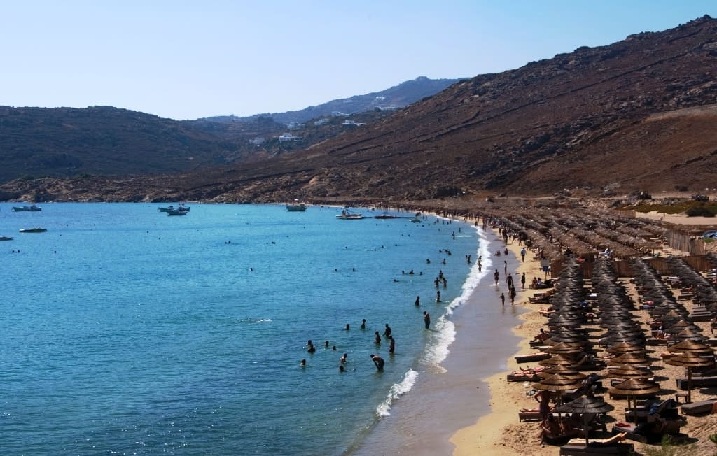 Elia Beach The best Mykonos beaches