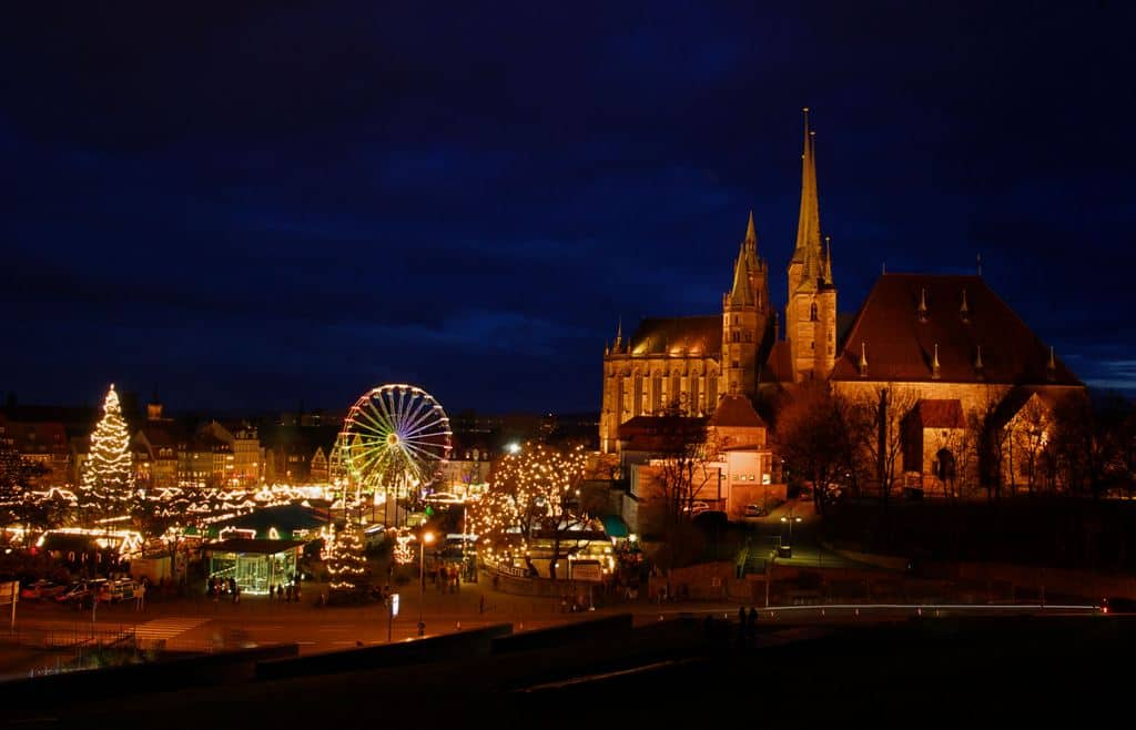 Erfurt christmas market -The best Christmas Markets in Germany