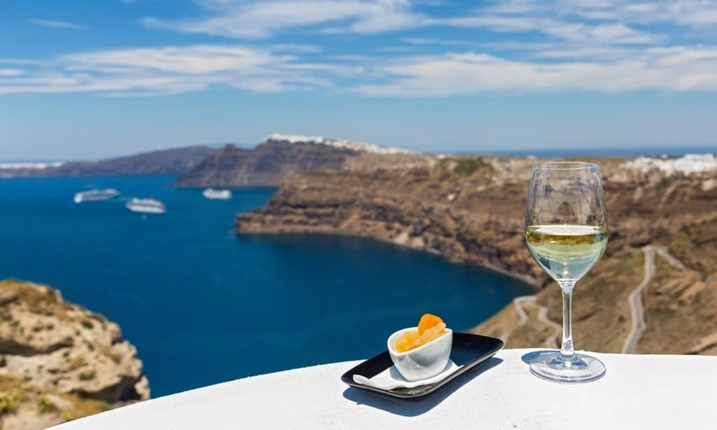 wine tasting - The Best Santorini Tours