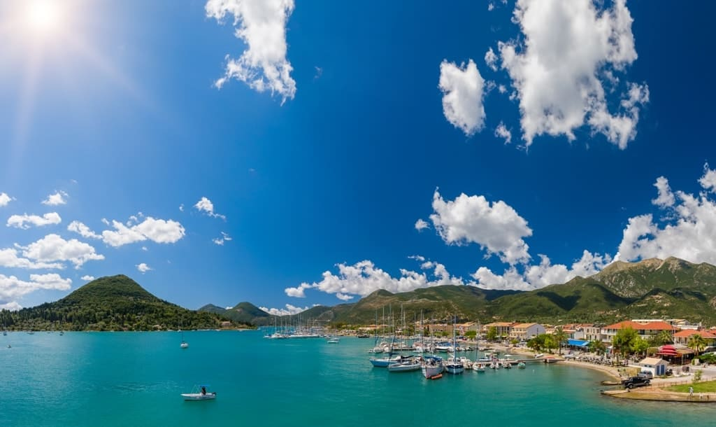 Harbor of Nidri - The Best Lefkada Beaches