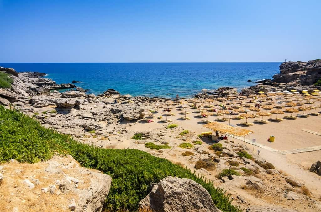 Kallithea beach -The Best Rhodes Beaches