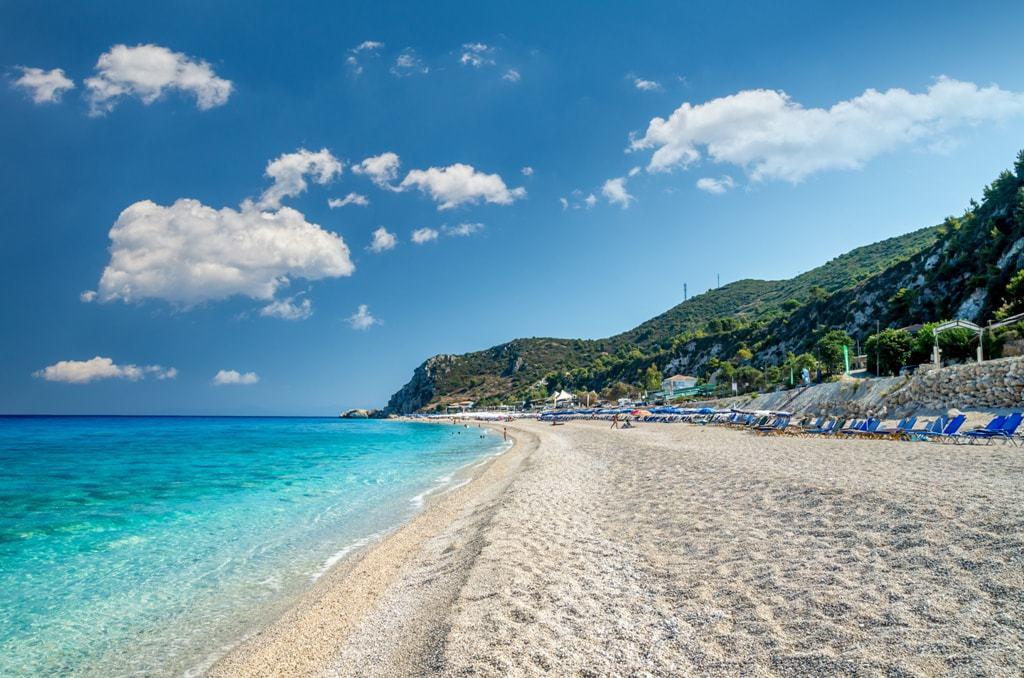 Kathisma Beach -The Best Lefkada Beaches