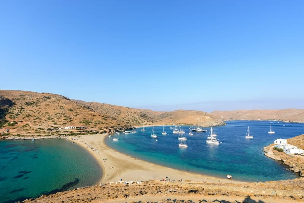 Kythnos - The best islands near Athens