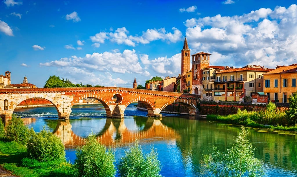 Bridge Ponte Pietra - Things to do in Verona in one day